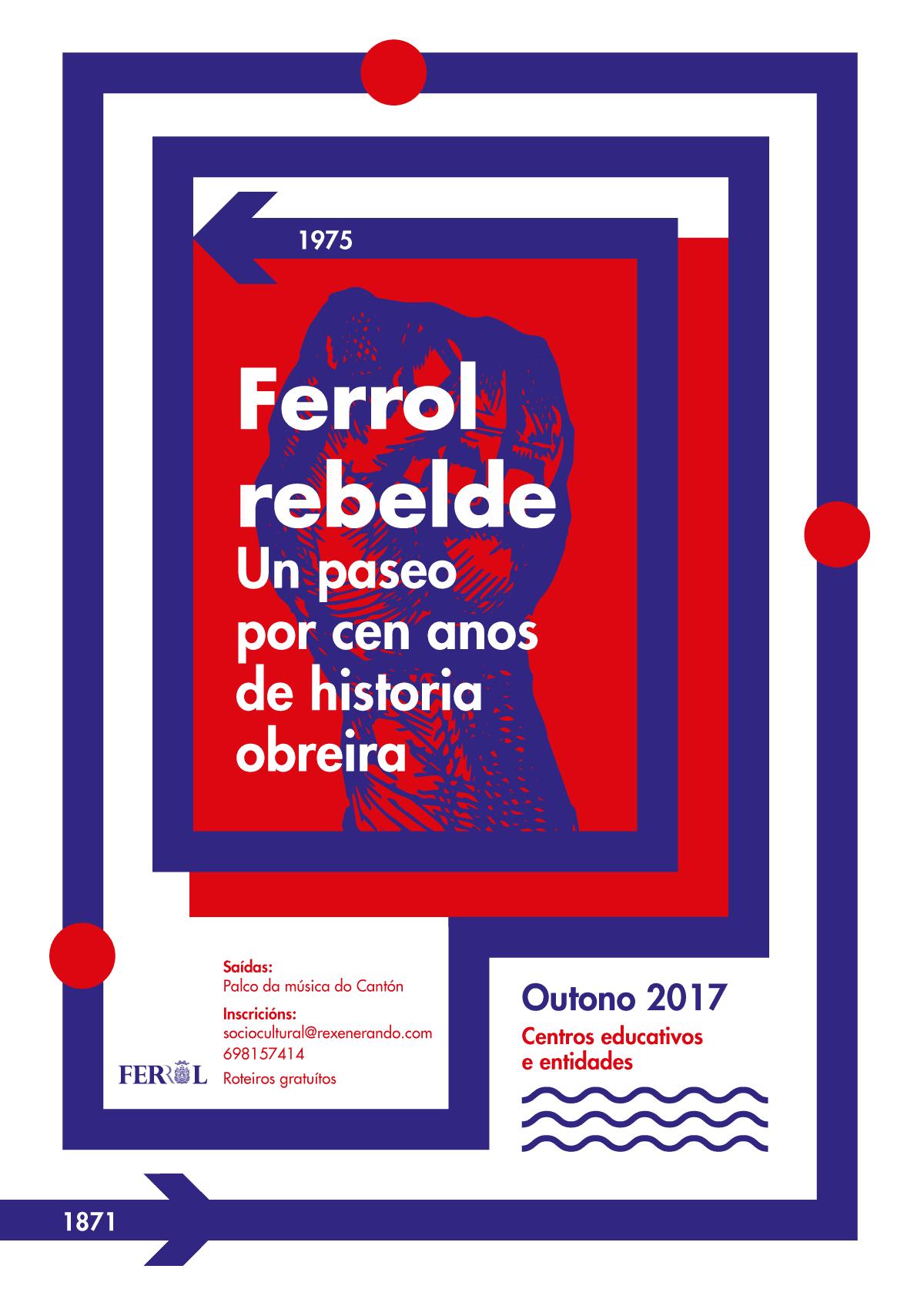 nadina gráfica Ferrol Rebelde